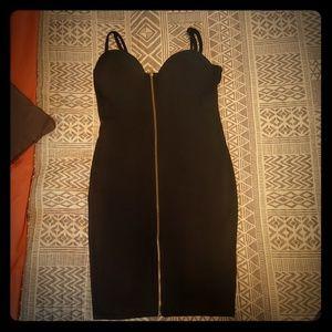 Black guess bandage dress